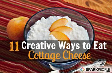 ways to eat cottage cheese 11 creative uses for cottage cheese slideshow sparkpeople