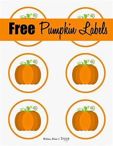 Whine  Dine And Design  Free Pumpkin Labels