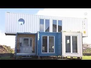 Wohnen Mal Ganz Anders Umweltschtzer Baut Containerhaus