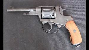 Nagant M1895 Revolver Disassembly And Reassembly