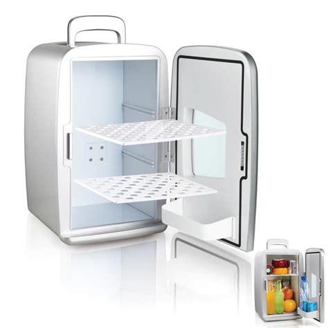 frigo chambre mini frigo réfrigérateur 14l portable argent achat