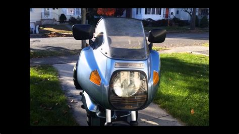 Modified Bmw K100 by 1988 Bmw K75 Motorcycle Modified With An Rs Fairing And