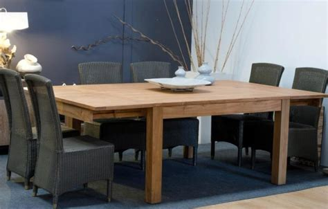 table carree 12 personnes achat table 12 personnes rallonges teck carr 233 e walk table salon sall