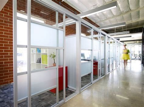 glass doors  office transparency ri
