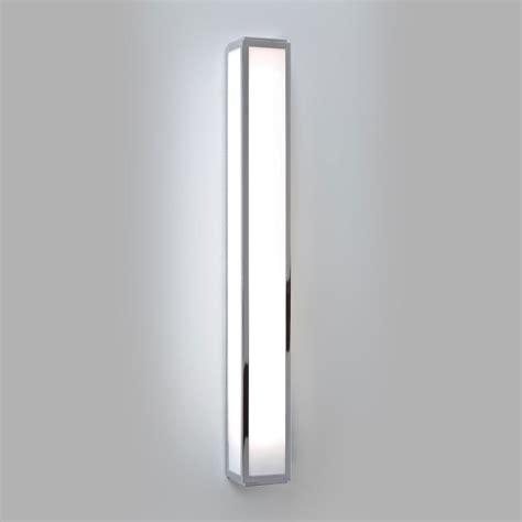 astro mashiko 600 polished chrome bathroom wall light at