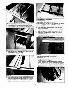 Craftsman 141218331 User Manual Saw Table  Manuals And