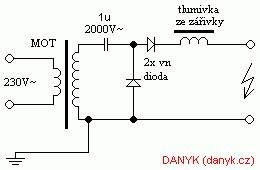 the simplest power supply for tesla coil with one mot With diagram also samsung microwave wiring diagram on tesla coil design