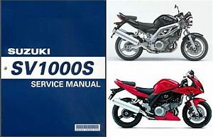 03-07 Suzuki Sv1000    Sv1000s Service Repair Shop Manual Cd -- Sv 1000 S 1000s For Sale