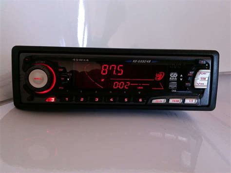 autoradio mit cd cd autoradio audi mit spez audio rotem display kd sx924r