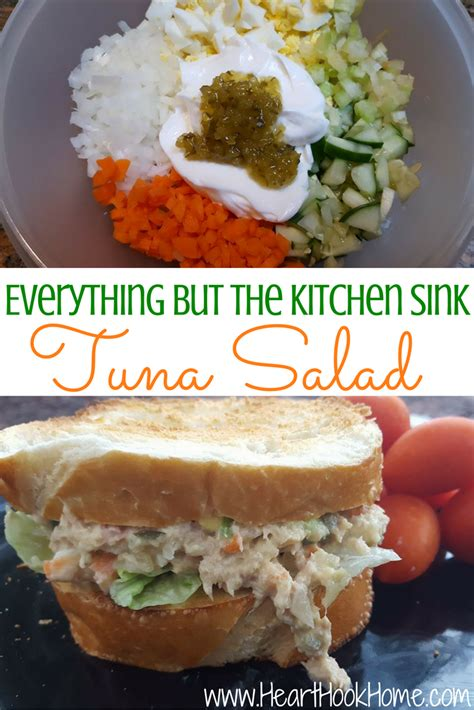 everything but the kitchen sink recipe everything but the kitchen sink tuna salad recipe 9651