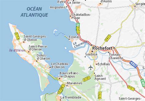 restaurant port des barques kaart port des barques plattegrond port des barques viamichelin