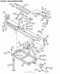 Dr Power 3 Point Hitch Horizontal  Vertical Parts Diagram