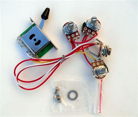 Stratocaster 5 Way Wiring Harnes by 250k 5 Way Wiring Harness For Fender Stratocaster Guitar