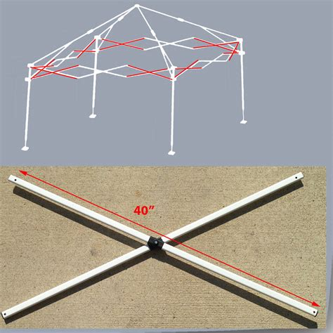 envoy  instant canopy gazebo side truss bars replacement parts ebay