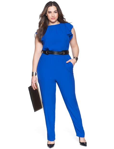 plus size jumpsuits the most amazing blue plus size jumpsuit is sc