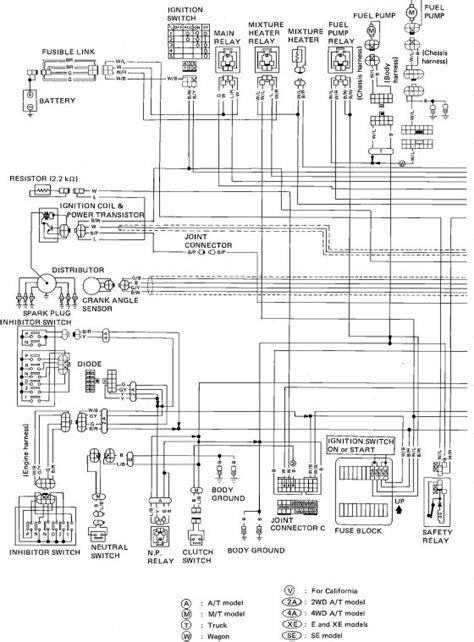wiring diagram for nissan 2005 hardbody search