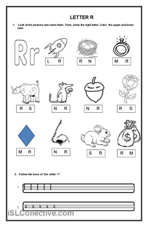 letter r worksheets for kindergarten letter r worksheet 13 best images of letter r worksheets for preschool 22799