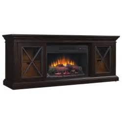 Decor Infrared Electric Stove 4500 Btu by Shop Chimney Free 64 25 In W 5200 Btu Black Wood Veneer