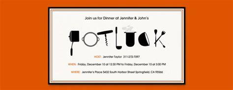 Halloween Potluck Invitation Sample by Potluck Party Guide Evite
