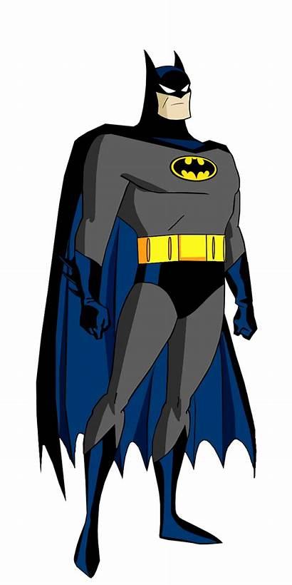 Batman Animated Cartoon Dc Batsuit Universe Clipart