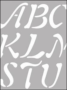 lettering stencils from the stencil library buy from our With where to buy large letter stencils