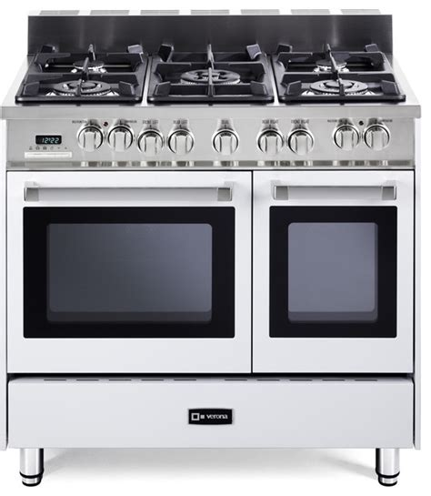 verona 36 quot oven dual fuel range transitional