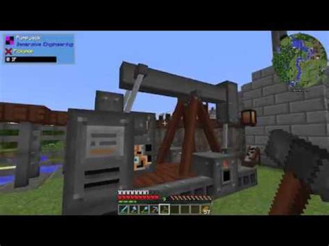 immersive engineering minecraft immersive petroleum pump jack ep  youtube