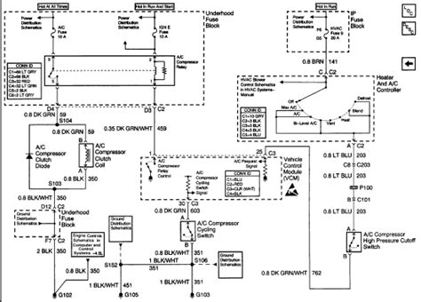 2000 Blazer Wiring Schematic by I A 2000 Blazer Lt 4 6 L Engine With A C The