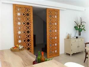 Porte En Bois Intérieur : 50 ides de claustra bois interieur galerie dimages ~ Dailycaller-alerts.com Idées de Décoration