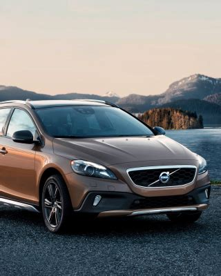 Volvo V40 Cross Country Backgrounds by Volvo Wallpapers For Iphone 5
