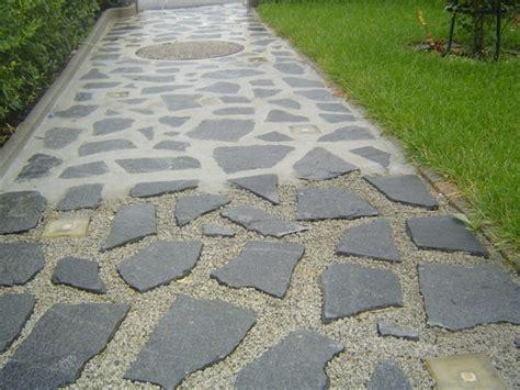granitplatten garten der klassiker in der gartengestaltung polygonalplatten