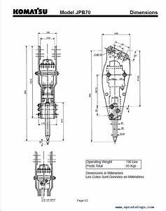 Komatsu Hydraulic Breaker Jpb70 Operation And Maintenance
