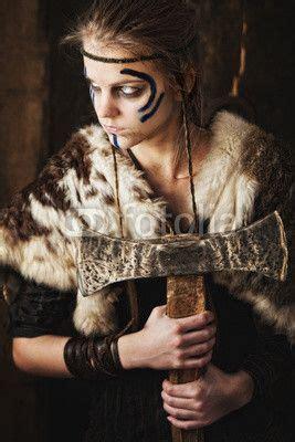 Photo: Female warrior with axe © Marcin Gardychowski ...