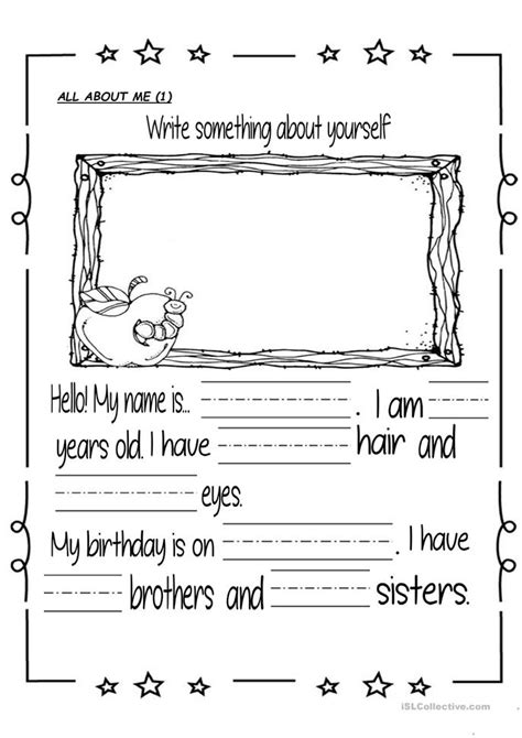 journal prompts worksheet  esl printable worksheets