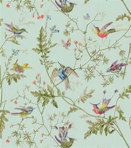 vintage bird wallpaper - Google Search | Furnishings ...