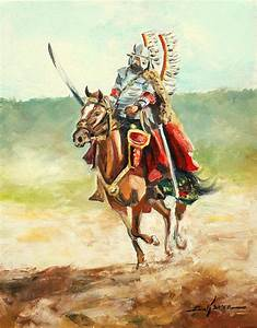 The Polish Winged Hussar Painting by Luke Karcz