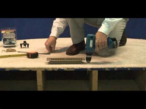 oberry enterprises instructional video carpeted floors