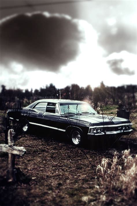 Chevy Impala Wallpaper Iphone by Supernatural 67 Chevy Impala Iphone Wallpaper By Xerix93