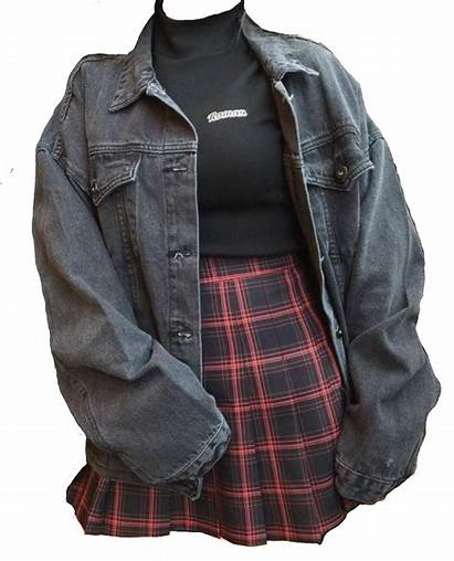 Grunge Outfits Edgy Clothes Outfit Aesthetic Moodboard