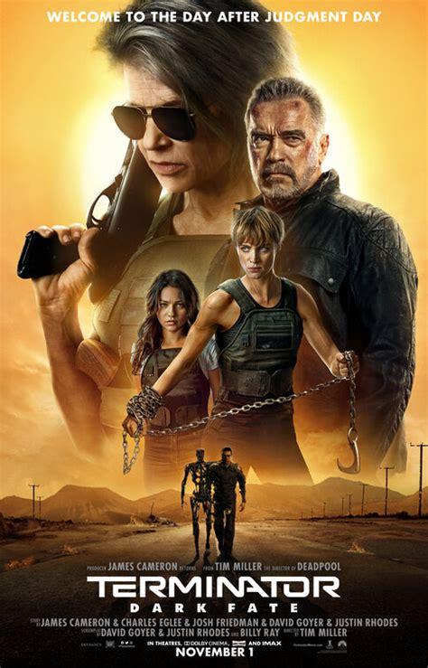 terminator dark fate  poster    imp awards