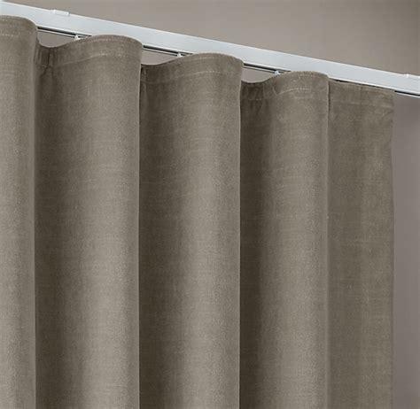 custom vintage velvet ripple fold draperyselect colors  sale