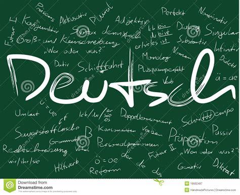 vorstand mit deutsch deutsch stock abbildung