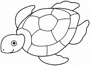 Cute Sea Turtle Coloring Pages - Womanmate.com