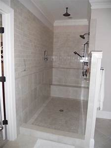 modern and classic walk in shower without doors homesfeed With walk in shower no door