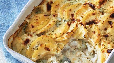gratin de poisson et de pommes de terre 224 l aneth