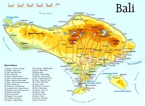 bali tourism map   people  planning