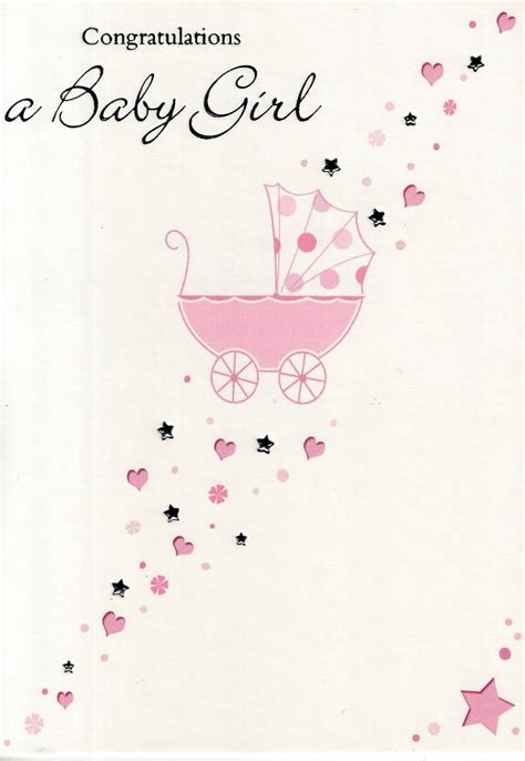 congratulations card for new baby template congratulations a new baby greeting card simple great