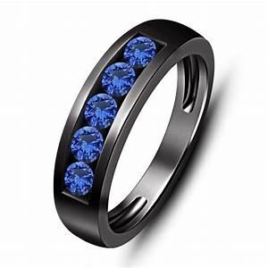 Mens Sapphire Wedding Band Wedding And Bridal Inspiration