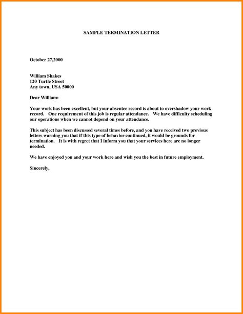 employee termination letter templates sales slip template