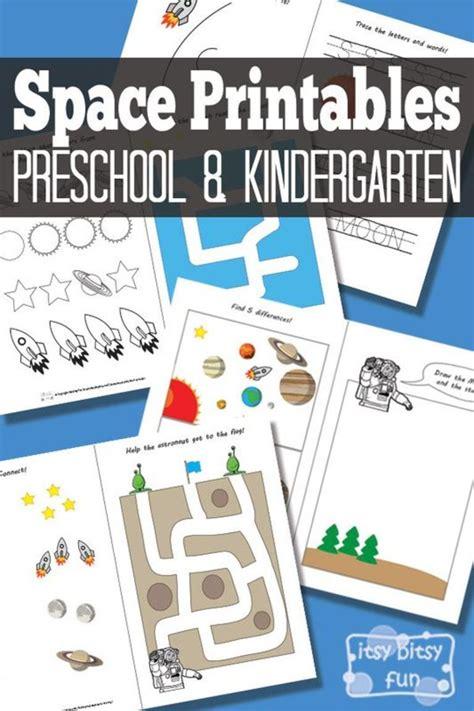 space preschool pack toddlers preschoolers